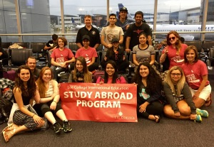Study Abroad group photo
