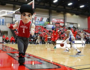 """Pack the House,"" ""Rock the Red"" game at Lee College"