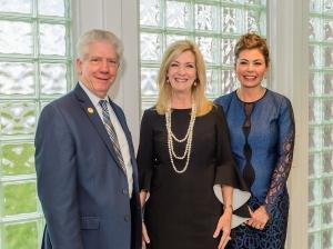 Dr. Dennis Brown, Pam Warford, Jennifer Marcontell