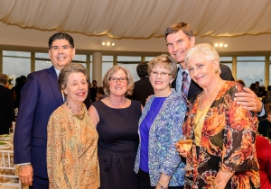 Ignacio Ramirez, Carol Bartz, Joan Linares, Donna Mohlman, David Mohlman, and Virginia Miller